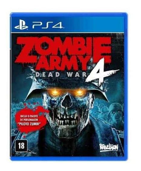Zombie Army 4 Dead War Ed De Lançamento Ps4 Mídia Física Br