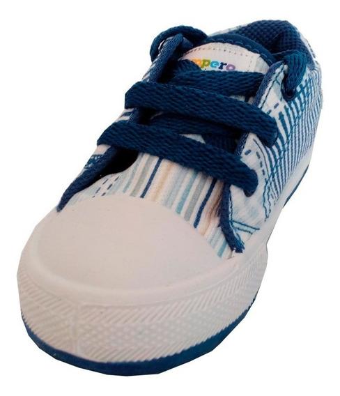 Zapatillas Lona Marca Pampero Modelo Marti 024138001