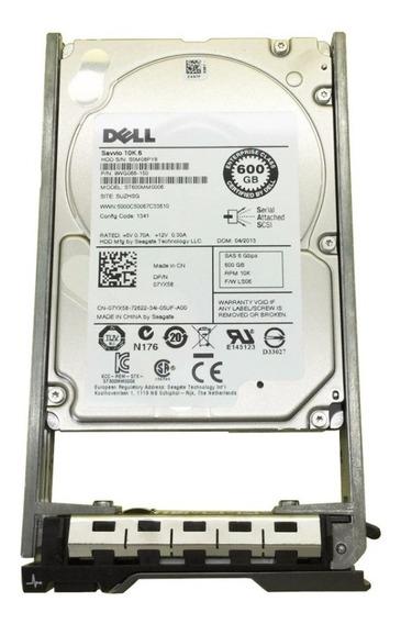 Hd Dell 07yx58 7yx58 St600mm0006 600gb 6g 10k 2.5 Sas