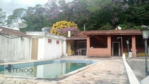 Chácara 2200 M² - Venda - 2 Dormitórios - Santa Luzia - Ribeirão Pires/sp  - Ch0066