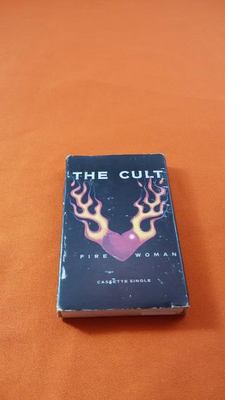 The Cult Fire Woman Single K7 Importado