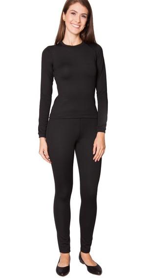 Conjunto Calça+blusa Térmica Flanelada Inverno Roupa Frio Fm