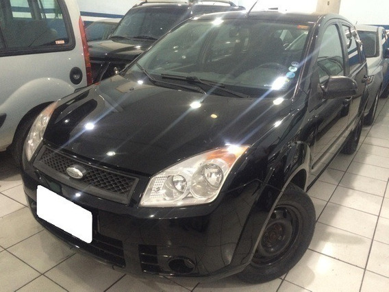 Ford Fiesta 1.6 Hatch Preto 8v Flex 4p Manual 2008