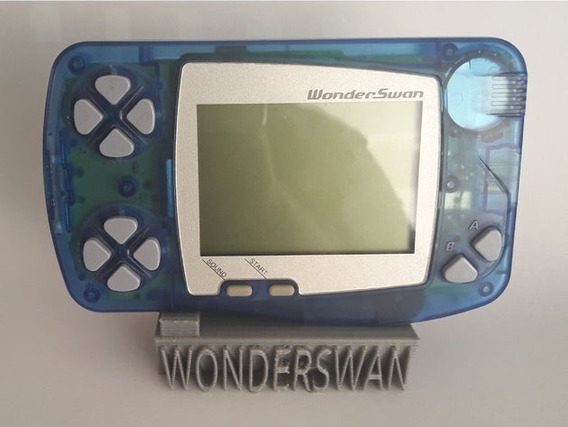 Stand Impresso Em 3d Bandai Wonderswan V2