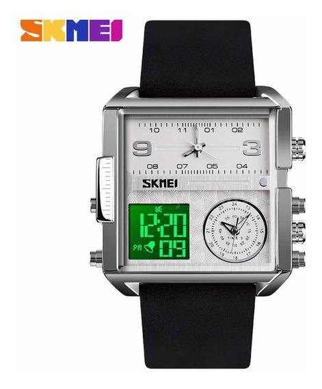Relógio Masculino Skmeii Original Funcional Estilo Diesel