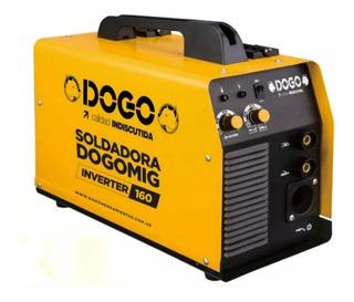 Soldadora Dual Mig Electrodo Inverter Dogo 160 Amp.