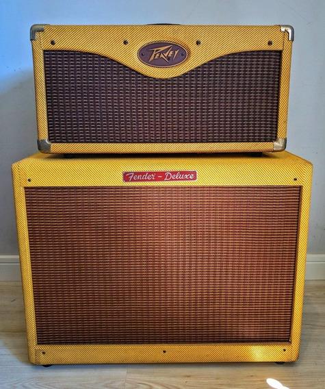 Vendo Head Peavy Valvulado Guitarra + Gabinete Fender