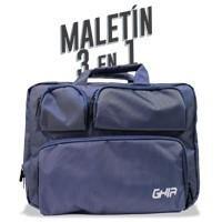 Maletin 3 En 1 Ghia 15.6 Azul Marino