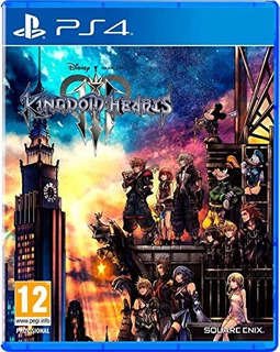 Kingdom Hearts 3 Ps4 Fisico Sellado Stock Ya