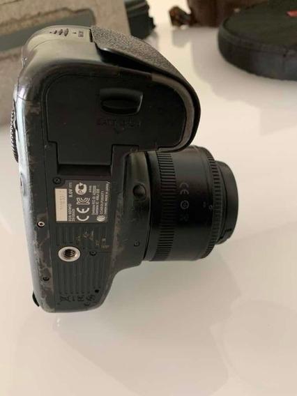 Câmera Cânon 6d + Lente 35mm + 1 Bateria