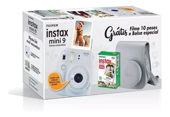 Câmera Fujifilm Instax Mini 9 +bolsa+pack 10