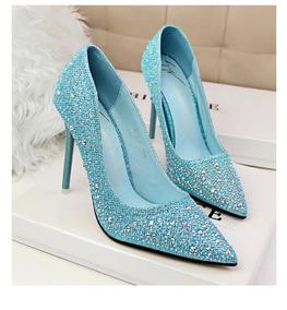 Sapato De Cristal Bigtree Original Estilo Cinderela
