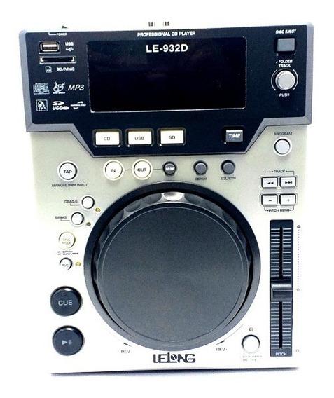 Cdj Profissional Lelong Para Dj Cdj-932d Mp3/cd-r/cd/usb/sd