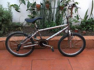 Bicicleta Azzax Bmx Cromada