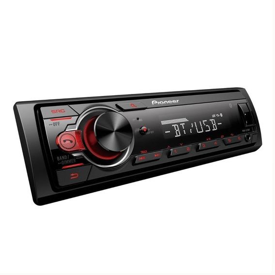 Estereo Pioneer Mvh 215bt Con Usb Bluetooth Auxiliar 215 Bt