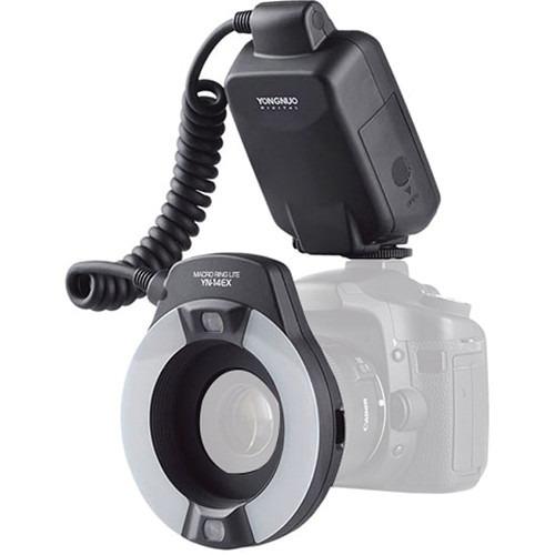 Flash Circular Yongnuo Yn-14ex Lite Para Canon 12x S/juros