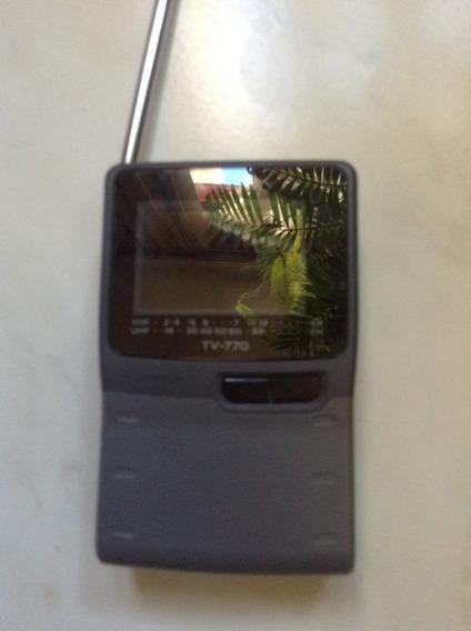 Mini Tv Portatil Casio Tv 770