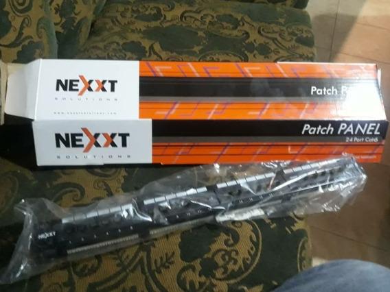 Patch Panel De 24 Puertos Marca Nexxt
