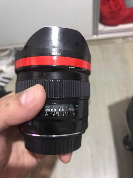 Canon Ef 14mm F2.8 - Usada