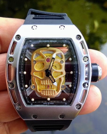 Relógio Masculino - Skull (crânio)