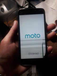 Motorola Moto G4 Play Con Derrame En Display Funcional