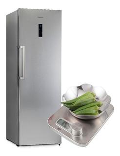 Heladera No Frost 360 Lts. Vondom+balanza Digital De Cocina