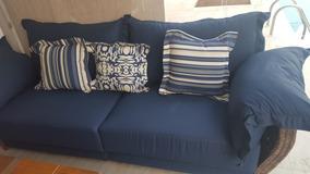 Sofa Para Jardim Semi Nova Cores Lindas