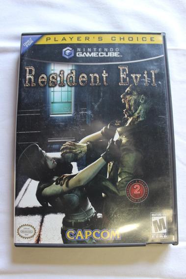 Gamecube Resident Evil Remake Original