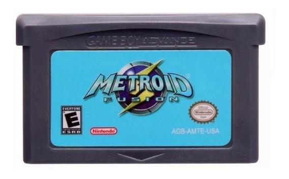 Metroid Fusion Em Português Game Boy Advance Gba Novo