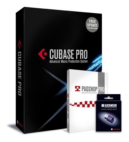 Cubase Pro 10 + Padshop Pro Vsti