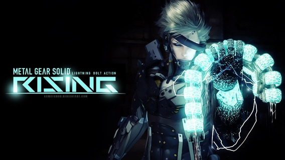 Metal Gear Rising Revengeance ( Mídia Física ) Pc