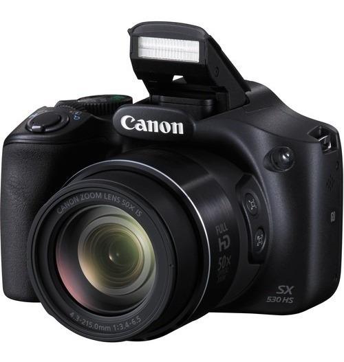 Câmera Canon Powershot Sx530 Hs - Loja Platinum