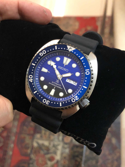 Relógio Seiko Turtle Prospex Save The Ocean Automatic Srpc61