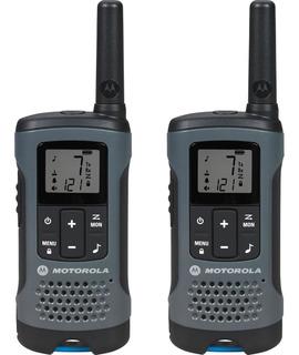 Rádio Comunicador Motorola Talkabout 32km T200br Cinza - Par