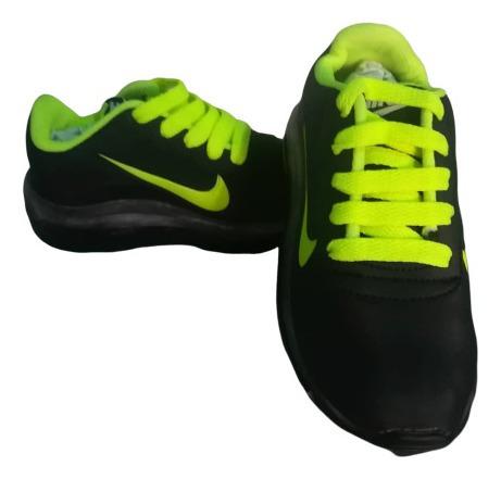 Zapatos Nike Con Luces Para Niños Varios Colores