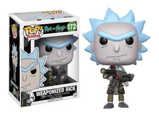 Funko Pop Rick Rick Y Morty Juguete Figura Rick And Morty