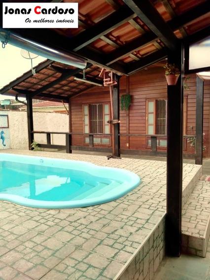 Ótima Casa Próximo A Praia De Vista Linda - Ca00301 - 34086228