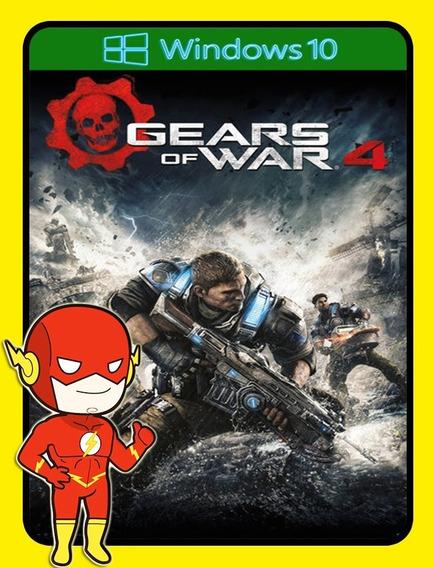 Gears Of War 4 Pc - Windows 10 Key (envio Flash)