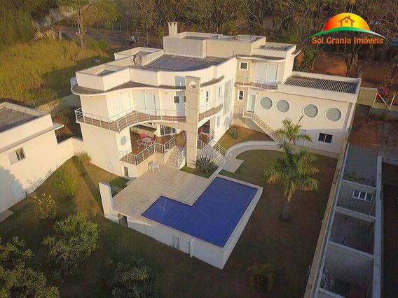 Casa À Venda, Granja Viana, Sp. - Ca0001
