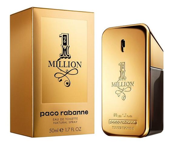 Paco Rabanne One 1 Million 50ml + Amostra De Brinde