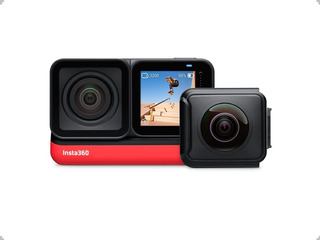 Camara Insta360 One R Twin Edition 5.7k + 4k + Selfie Stick