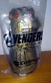 Guante Thanos De Luz Avengers End Game Cinemex.