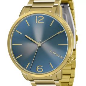 Relógio Lince Feminino Dourado Lrgj043l D2kx + Nf-e