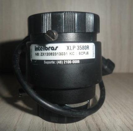 Lente Varifocal Intelbras Xlp 3580 R Novas