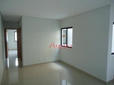 Cobertura Com 2 Dormitórios À Venda, 49 M² Por R$ 399.900 - Vila Alpina - Santo André/sp - Co0619