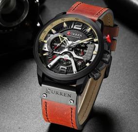 Relógio Esportivo Luxo - Curren - Homen De Negócios