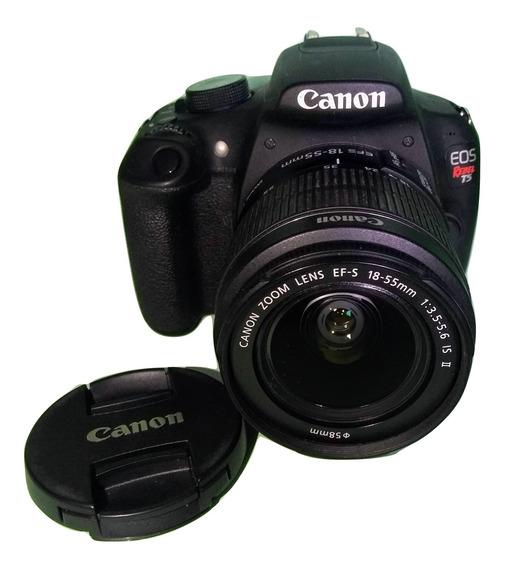 Canon Rebel T5 Em Estado De Nova E Pouco Usada