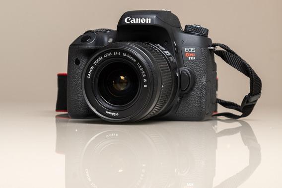 Câmera Fotográfica Canon Eos T6s