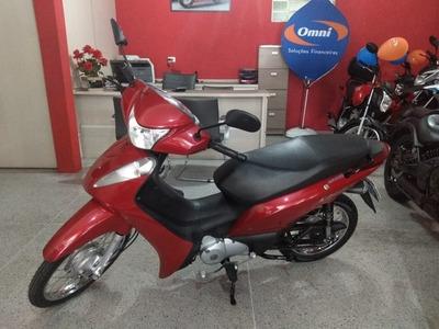 Honda Biz 125 Es Vermelha 2015