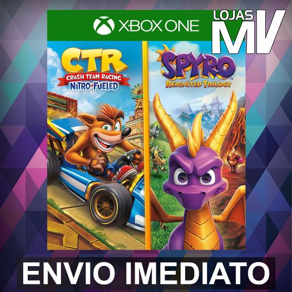 Crash Team Racing Nitro-fueled + Spyro - Xbox One Código